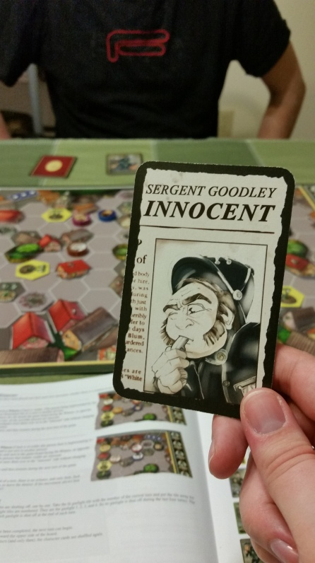 Sargent Goodley is innocent