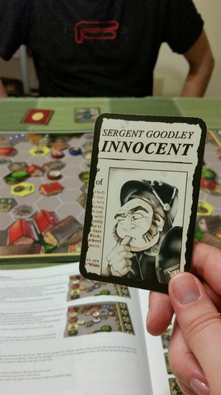Sargent Goodley is innocent