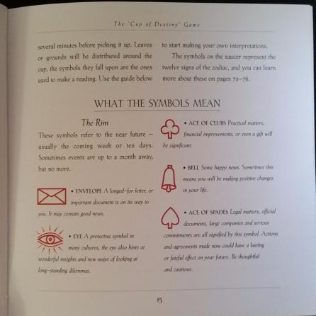 The teacup symbols