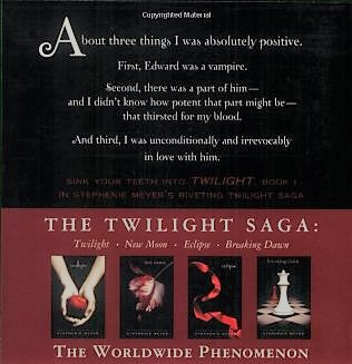 Twilight back cover synposis